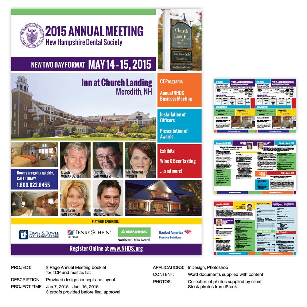 Event Registration Booklet